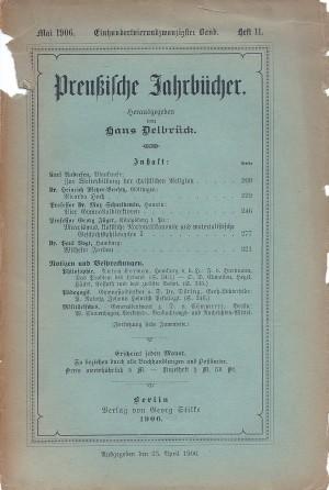 Nr. 11 Preußische Jahrbücher 1906 Scan_Pic0047