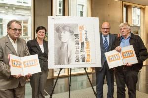 """Präsentation des Sonderpostwertzeichens """"150. Geburtstag Ricard"""