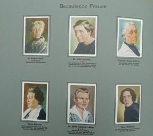 Nr. 29 Dr. Ricarda Huch und 5 andere bedeutende Frauen