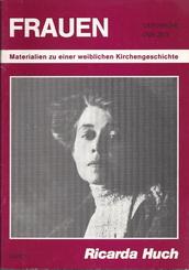 R.H. Titelbild des Heftes Frauen der Kirche der Zeit Verkleinerung
